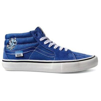 Vans sk8 mid pro limited alltimers true navy white skate shoes TheDrop