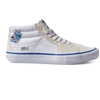 VANS sk8 mid pro limited alltimers true white kinetic skateboarding TheDrop