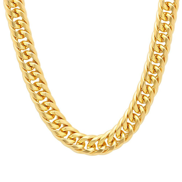 VESSO cuban link chain 1 jewelry gold TheDrop