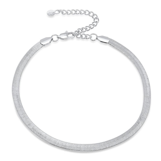 VESSO mina choker white gold jewelry white gold TheDrop