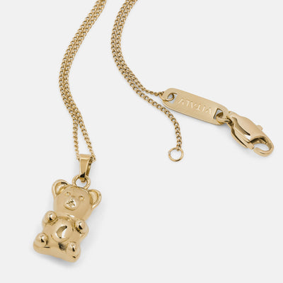 Vitaly gummy bear pendants gold TheDrop
