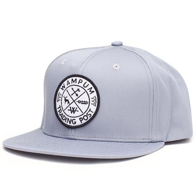 Wampum trading post snapback hat gray snapbacks grey TheDrop