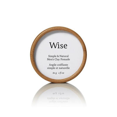 Wise Men s Care glacier clay pomade refill wolf s head TheDrop