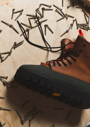 Clearweather wampa timber footwear brown TheDrop