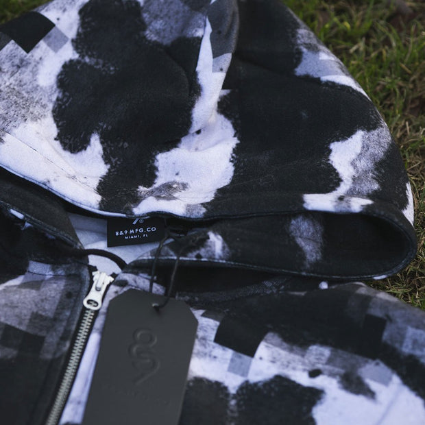 8 9 MFG Co. digi camo pullover hooded sweatshirt jackets and outerwear TheDrop