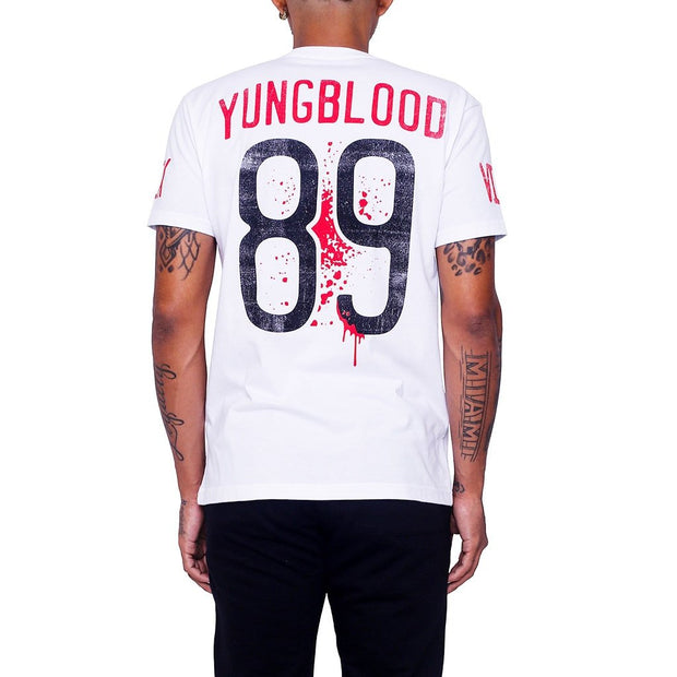 8 9 MFG Co. chicago 13 young blood jersey tee tees white TheDrop