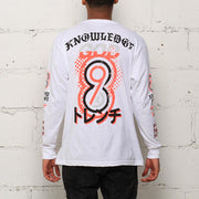 8 9 MFG Co. knowledge l s t shirt white tees TheDrop