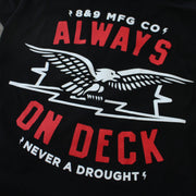 8 9 MFG Co. no droughts t shirt black tees black TheDrop