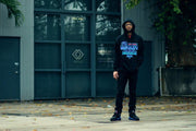 8 9 MFG Co. pack man aqua 8 hooded sweatshirt jackets and outerwear blue TheDrop
