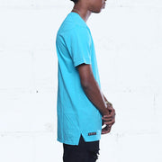 8 9 MFG Co. triple beam elongated washed tee ocean tees (men only) TheDrop