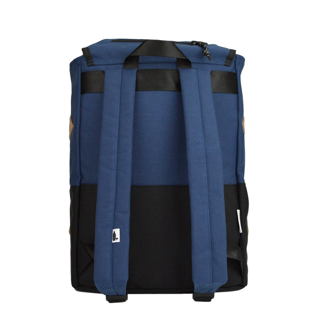 Alpine Division rockaway daypack navy commuter bags TheDrop