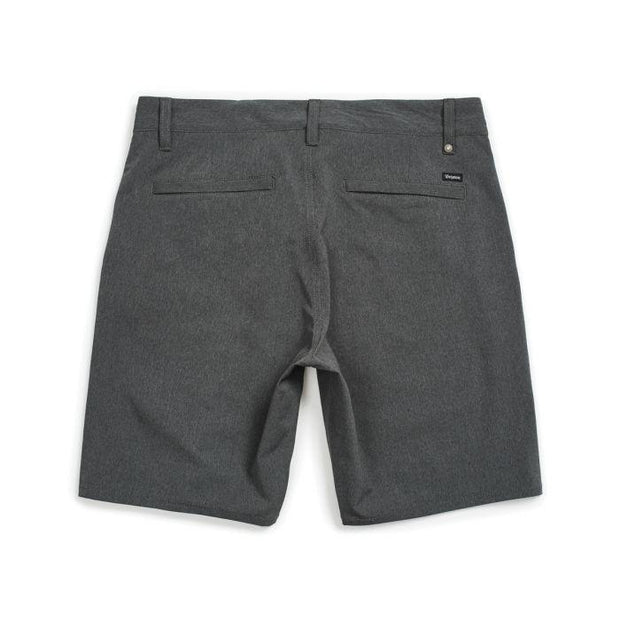 BRIXTON mens toil ltd x short heather charcoal shorts grey TheDrop
