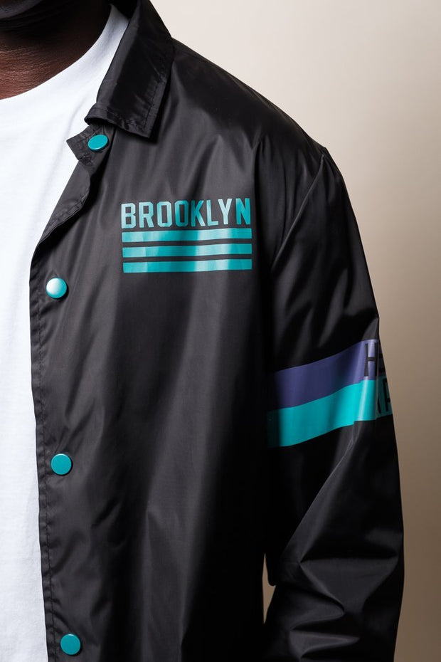 Brooklyn Cloth brooklyn coaches jacket jackets and outerwear black TheDrop