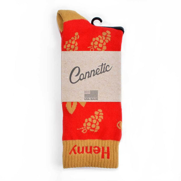 Connetic henny sock 2 red TheDrop