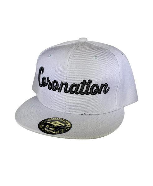 Coronation Apparel coronation script 5 hats and beanies TheDrop