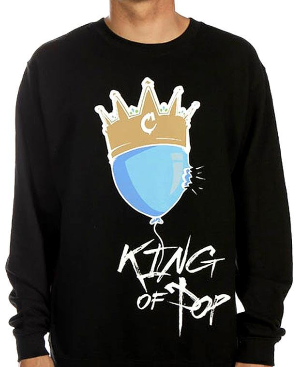 Coronation Apparel king of pop tees (men only) TheDrop