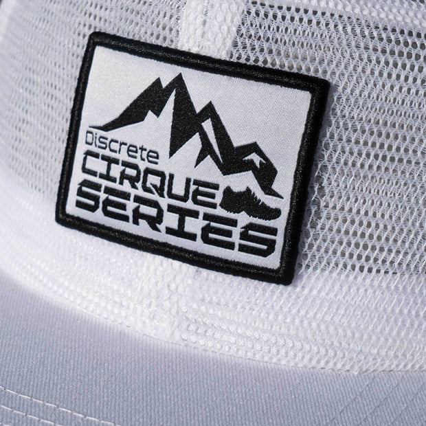 Discrete Clothing white limit snapbacks TheDrop