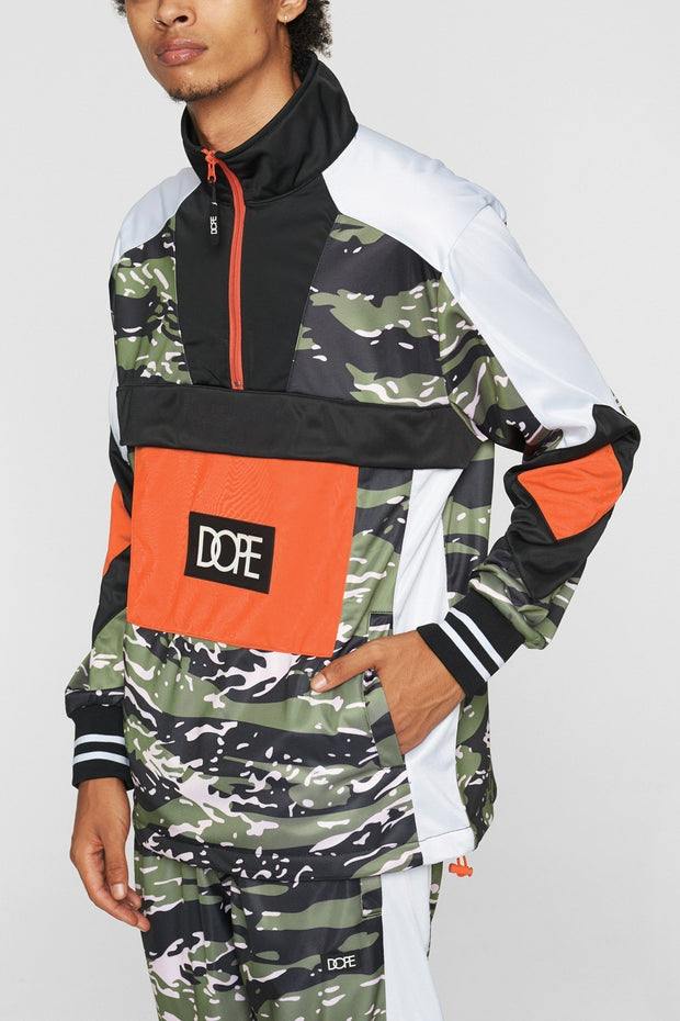 DOPE sprinter pullover camo jackets and outerwear camo TheDrop