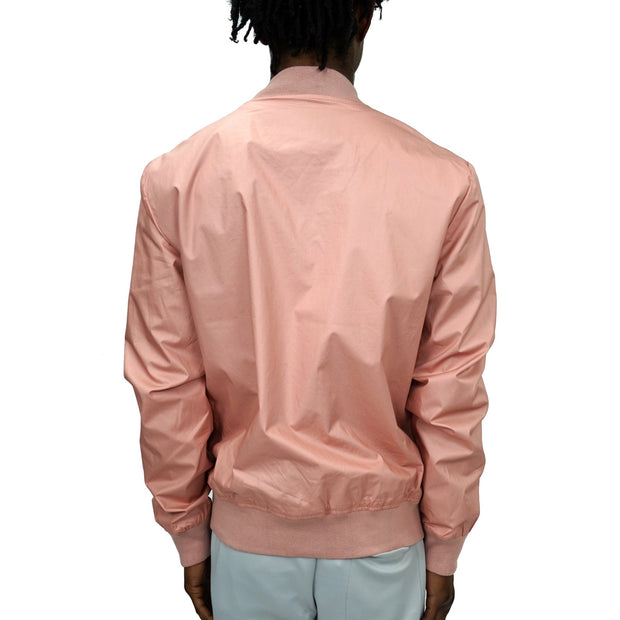 FXN broadcloth cotton bomber unisex dusty rose jackets and outerwear TheDrop