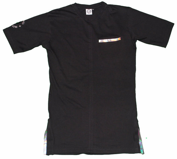Grindstone Universal new black short sleeve with holo tees and tank tops TheDrop