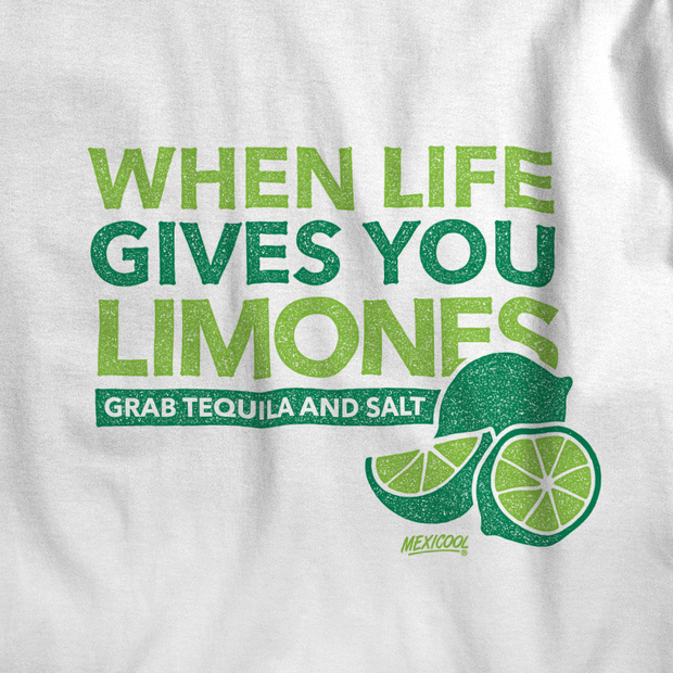 Mexicool™ when life gives you limones women tee 1 tees and tank tops white TheDrop