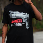 8 9 MFG Co. desert eagle t shirt black tees TheDrop
