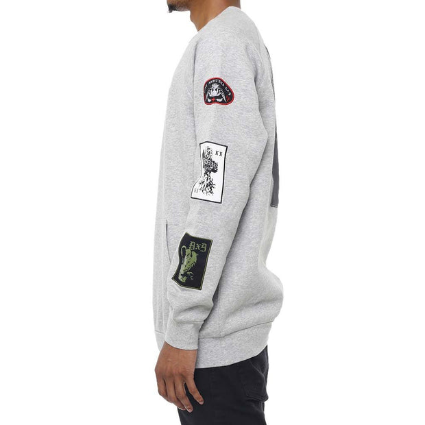 8 9 MFG Co. grief patched out sweatshirt heather jackets and outerwear TheDrop