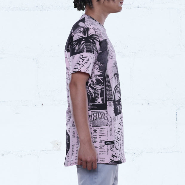 8 9 MFG Co. price check rose elongated t shirt tees TheDrop