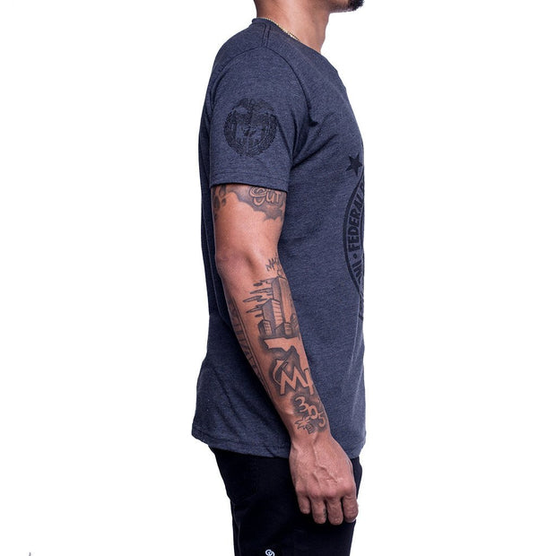 8 9 MFG Co. red reserve t shirt tees black TheDrop