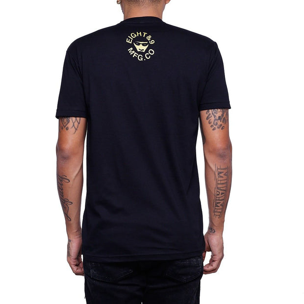 8 9 MFG Co. royalty jordan 4 gs t shirt tees black TheDrop
