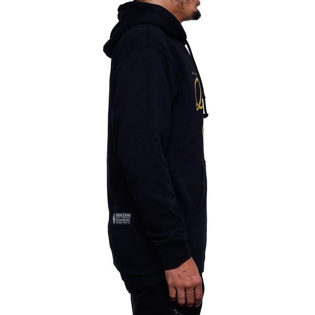 8 9 MFG Co. royalty question everything hooded sweatshirt jackets and outerwear black TheDrop