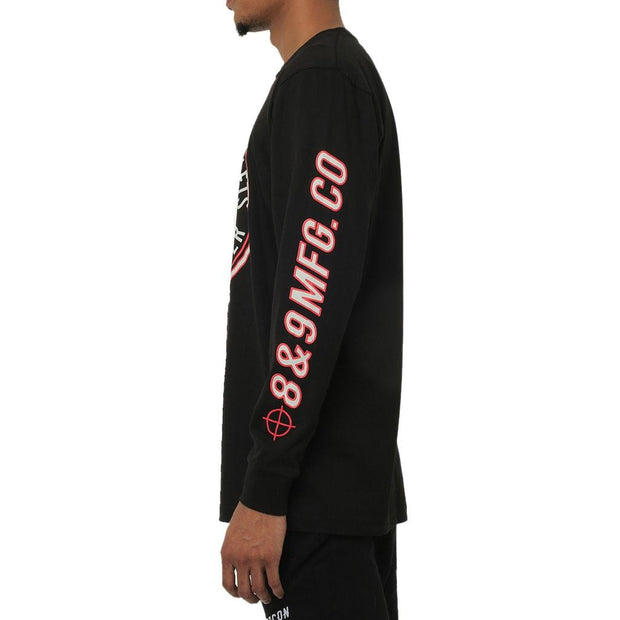 8 9 MFG Co. sharpshooter long sleeve t shirt tees TheDrop