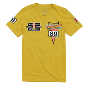 8 9 MFG Co. thriller jersey t shirt yellow tees (men only) TheDrop