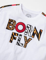 Born Fly the armour tee 1909t3396 wht tees white TheDrop