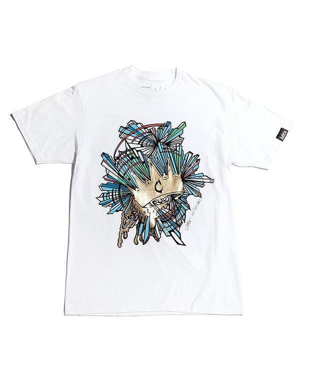 Coronation Apparel crystal foil 2 tees TheDrop