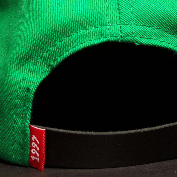 CREATE color block hat hats and beanies green TheDrop