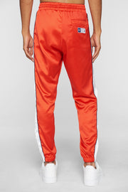 DOPE sideline satin joggers red pants and joggers red TheDrop