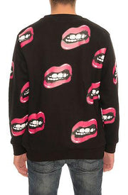 Kill Brand lips crew hoodies and crewnecks TheDrop