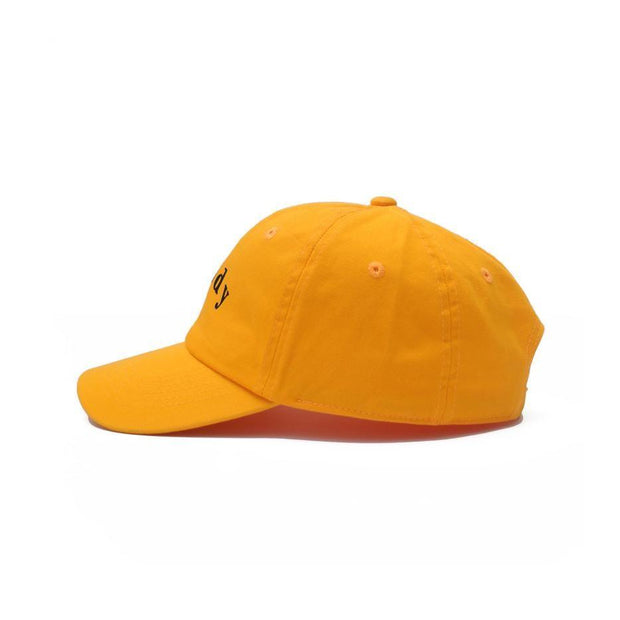 Nerdy Fresh zaddy dad hat 1 hats and beanies yellow TheDrop