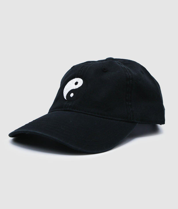 Riot Society Clothing yin yang embroidered dad hat riot society TheDrop