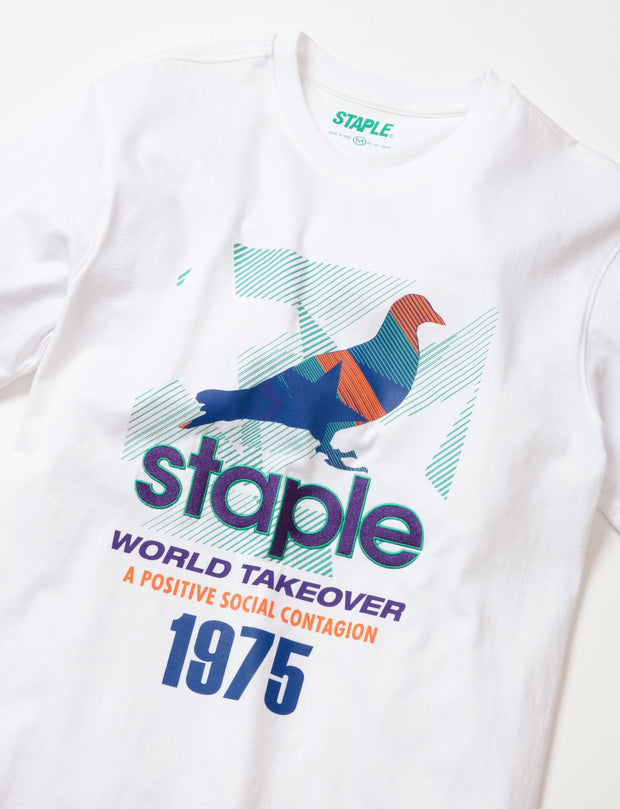 Staple Pigeon takeover pigeon tee 1911c5732 wht staple white TheDrop