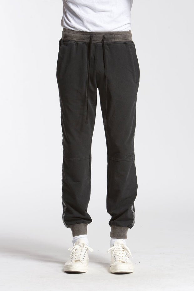 STUDIO CANDOR washed sweatpants 3 pants and joggers black TheDrop
