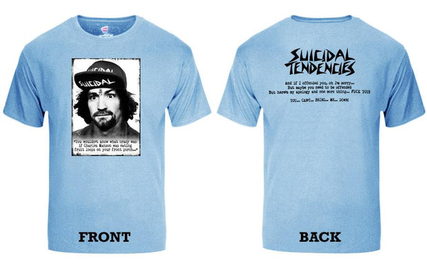 Suicidal Tendencies ts 66c charlie new colors sticker tees TheDrop