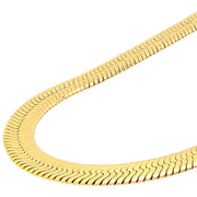 VESSO deluxe herringbone chain jewelry gold TheDrop