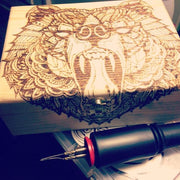 1740 Beard Balm custom cigar box 1740 TheDrop