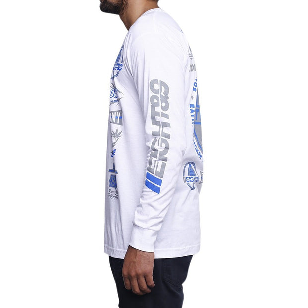 8 9 MFG Co. g pack l s t shirt white tees TheDrop