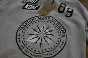 8 9 MFG Co. trappin crewneck sweatshirt wolf grey jackets and outerwear TheDrop