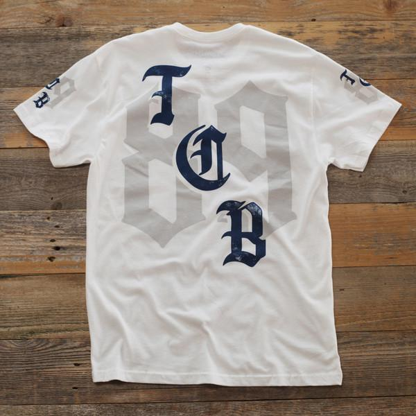 8 9 MFG Co. trench business t shirt white tees (men only) TheDrop
