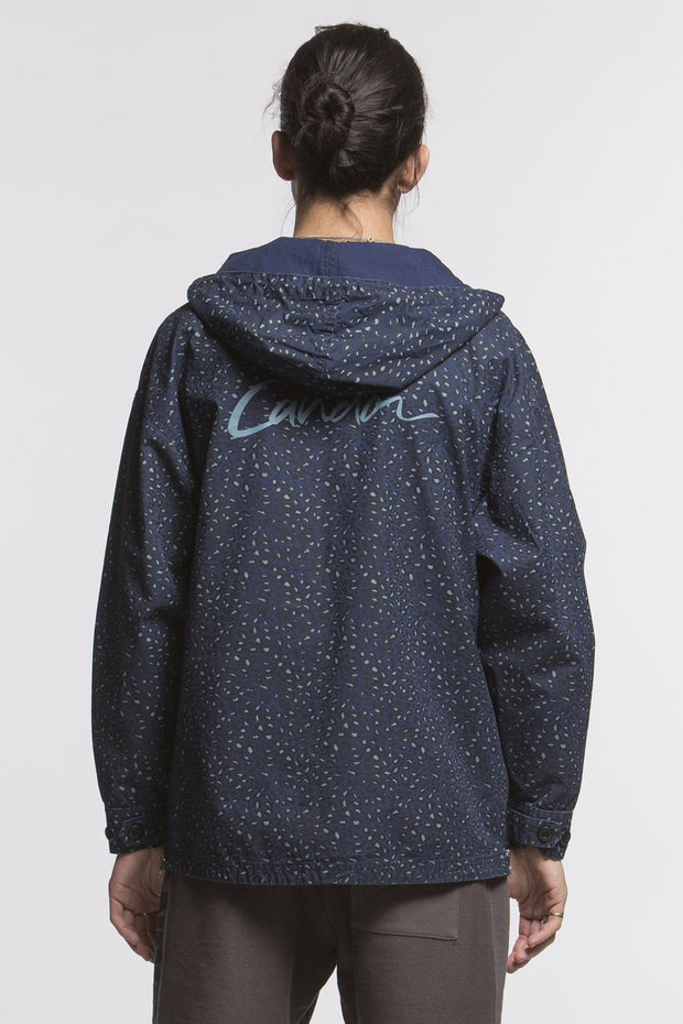 CANDOR Official leopard anorak parka 2 jackets and outerwear TheDrop
