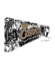 Coronation Apparel graffiti wall 2 tees TheDrop